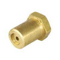 Imperial 1700-46 Equivalent Brass Hood Orifice; #46; 3/8 inch-27 Thread; 1/2 inch