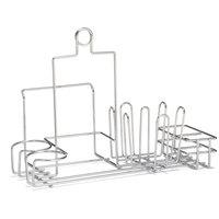 Tablecraft 5457112R Metal Diner Rack Condiment Holder