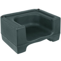 Carlisle 711008 Forest Green Plastic Booster Seat - Dual Seat