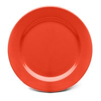 Elite Global Solutions D775PL Rio Spring Coral 7 3/4 inch Round Melamine Plate