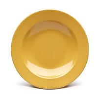 Elite Global Solutions D10PB Rio Yellow 18 oz. Round Melamine Pasta / Soup Bowl