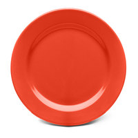 Elite Global Solutions D1175PL Rio Spring Coral 11 3/4 inch Round Melamine Plate