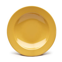 Elite Global Solutions D878PB Rio Yellow 12 oz. Round Melamine Pasta / Soup Bowl