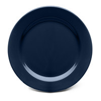 Elite Global Solutions D9PL Urban Naturals Lapis 9 inch Round Melamine Plate