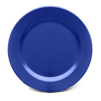 Elite Global Solutions D612PL Rio Winter Purple 6 1/2 inch Round Melamine Plate