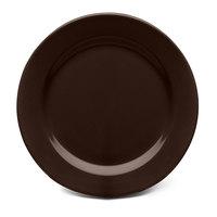 Elite Global Solutions D775PL Urban Naturals Aubergine 7 3/4 inch Round Melamine Plate