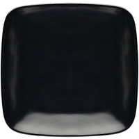 Elite Global Solutions D9SQR Radius 8 1/4 inch Black Rounded Edge Square Plate