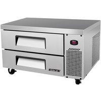 Turbo Air TCBE-36SDR 36 inch Two Drawer Refrigerated Chef Base - 6.1 cu. ft.