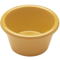 Elite Global Solutions R25SM Rio Yellow 2.5 oz. Melamine Ramekin