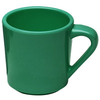 Elite Global Solutions DC-AG Rio Autumn Green 10 oz. Melamine Mug