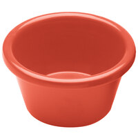 Elite Global Solutions R6SM Rio Spring Coral 6 oz. Melamine Ramekin