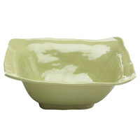 Elite Global Solutions M13BRF Tuscany Weeping Willow Green 4 qt. Square Bowl