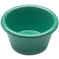 Elite Global Solutions R3SM Rio Autumn Green 3 oz. Melamine Ramekin