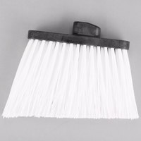 Carlisle 3686702 Duo-Sweep Medium Duty Angled Broom Head with Flagged White Bristles