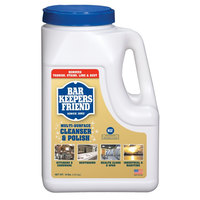 Bar Keepers Friend 10 lb. All Purpose Cleaning Powder - 4 / Case