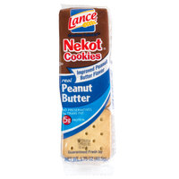 Lance Nekot Vanilla Cookie with Peanut Butter Filling 20 Count Box - 6 / Case