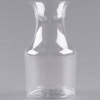 Fineline 6417 Tiny Temptations 7.5 oz. Clear Mini Wine Pitcher / Carafe - 60/Case