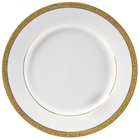 10 Strawberry Street PAR-24G 11 7/8 inch Paradise Gold Round Charger Plate