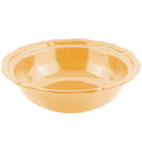 Bon Chef 9054 Queen Anne 10 Qt. Sandstone Ginger Cast Aluminum Salad Bowl