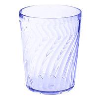 GET 2211-1-BL 12 oz. SAN Blue Plastic Tahiti Tumbler - 72/Case