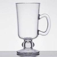 GET SW-1449-CL 10 oz. Plastic Irish Coffee Mug - 24/Case