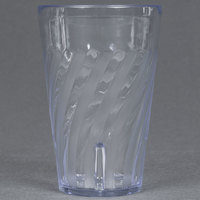 GET 2216-1-CL 16 oz. SAN Clear Plastic Tahiti Tumbler 72 / Case