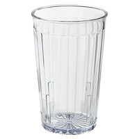 GET 8808-1-CL 8 oz. SAN Clear Plastic Spektrum Tumbler - 72/Case