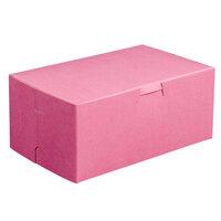 8 inch x 5 inch x 3 1/2 inch Pink Cake / Bakery Box - 250 / Bundle