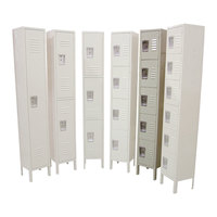Single Column 5-Tier Locker 18 inch x 12 inch