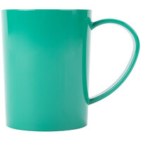 Carlisle 4306609 8 oz. Stackable Meadow Green Tritan Mug - 12/Case