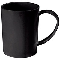 Carlisle 4306603 8 oz. Stackable Black Tritan Mug - 12 / Case