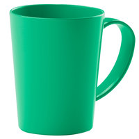 Carlisle 4306809 12 oz. Nesting Meadow Green Tritan Mug - 12/Case