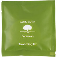 Basic Earth Botanicals Hotel and Motel Grooming Kit   - 250/Box