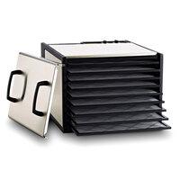 Excalibur D900S Stainless Steel Nine Rack Food Dehydrator - 600W