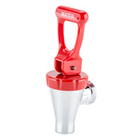 Bunn 07094.0001 Faucet Assembly with Red Handle for H5 & H10 Hot Water Dispensers