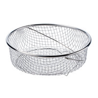 Matfer 013230 Steamer Basket for 14 Qt. (13 Liter) Stainless Steel Pressure Cooker