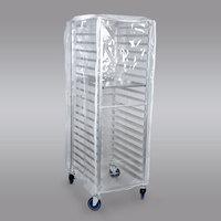 Clear Bun Pan Rack Cover - 10 Mils