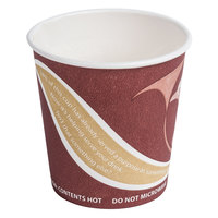 Eco Products EP-BRHC4-EW Evolution World PCF 4 oz. Hot Cups - 1000 / Case