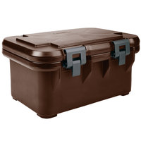 Cambro UPCS180131 Dark Brown S-Series Ultra Food Pan Carrier Insulated Top Loading