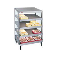 Hatco GRPWS-4818Q Glo-Ray 48 inch Quadruple Shelf Pizza Warmer - 3840W
