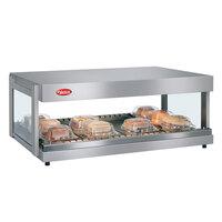 Hatco GRSDH-60 Glo-Ray 60 inch Horizontal Single Shelf Merchandiser