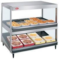 Hatco GRSDS/H-30D Glo-Ray 30 inch Horizontal / Slanted Double Shelf Merchandiser