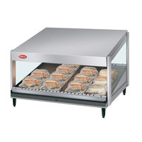 Hatco GRSDS-60 Glo-Ray 60 inch Slanted Single Shelf Merchandiser - 120V