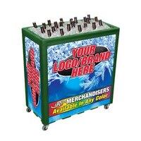 Green Avalanche 300 Mobile 112 qt. Cooler Merchandiser
