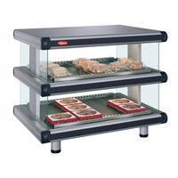 Hatco GR2SDH-36D Glo-Ray Designer 36 inch Horizontal Double Shelf Merchandiser