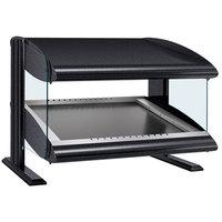 Hatco HZMS-54 Black 54 inch Slanted Single Shelf Heated Zone Merchandiser - 120V