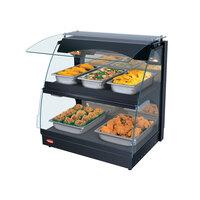 Hatco GRCMW-1D Glo-Ray 26 inch Double Shelf Curved Merchandising Warmer - 1540W