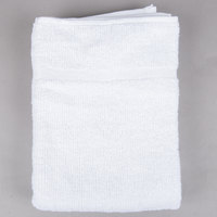 20 inch x 30 inch 100% Open End Cotton Hotel Bath Mat 6 lb. - 12/Pack