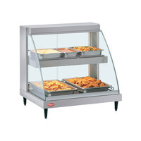 Hatco GRCDH-1PD 20 inch Glo-Ray Double Shelf Merchandiser with Humidity Control - 1110W