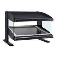 Hatco HZMS-30 Black 30 inch Slanted Single Shelf Heated Zone Merchandiser - 120V